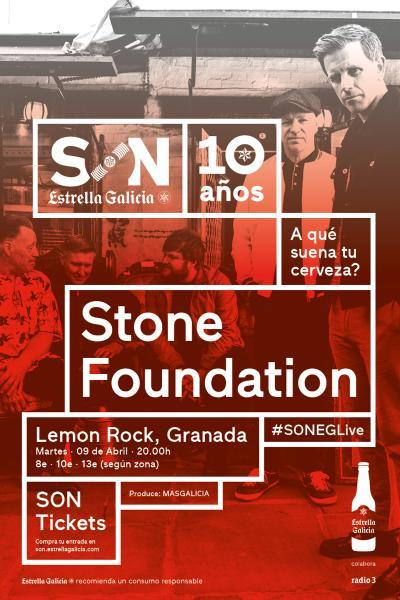 Stone Foundation en Granada | SON Estrella Galicia