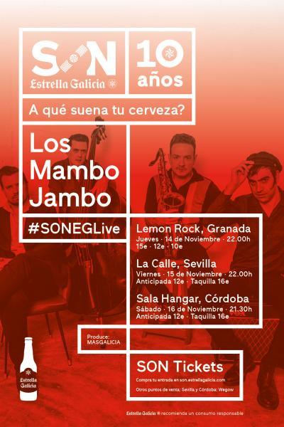 Los Mambo Jambo en Granada | SON Estrella Galicia