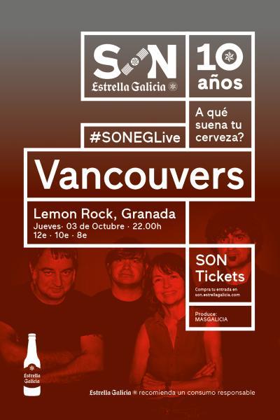 Vancouvers en Granada | SON Estrella Galicia