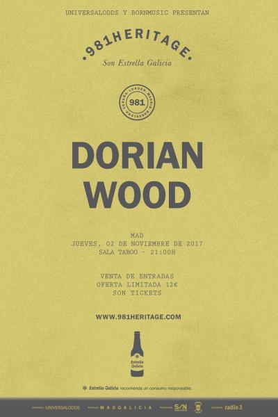 Dorian Wood en Madrid | 981Heritage