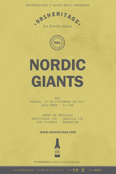 Nordic Giants en Madrid | 981Heritage