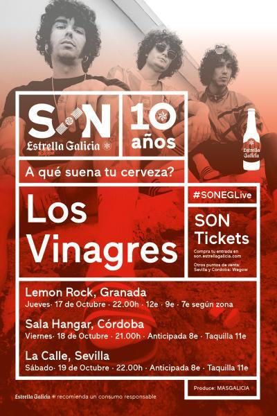 Los Vinagres en Córdoba   SON Estrella Galicia
