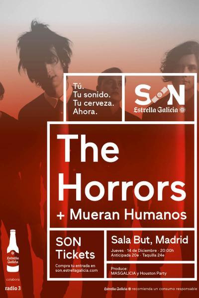 The Horrors + Mueran Humanos en Madrid | SON Estrella Galicia