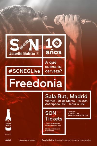 Freedonia en Madrid | SON Estrella Galicia
