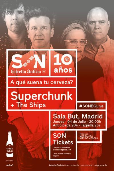 Superchunk + The Ships en Madrid | SON Estrella Galicia