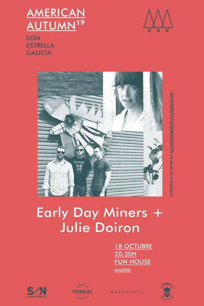 Early Day Miners + Julie Doiron en Madrid | American Autumn