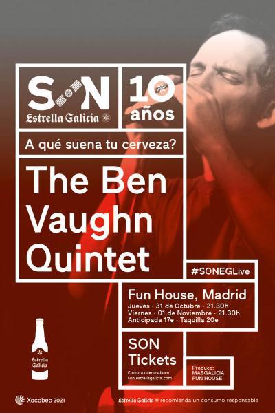 The Ben Vaughn Quintet en Madrid | SON Estrella Galicia