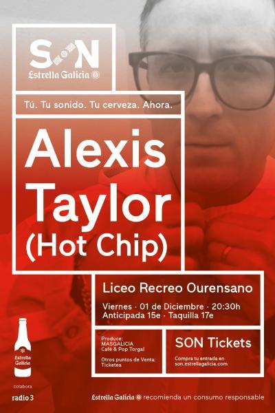Alexis Taylor (Hot Chip) en Ourense | SON Estrella Galicia
