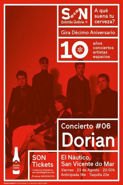 Dorian en San Vicente | SON Estrella Galicia