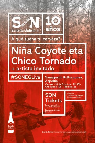Niña Coyote eta Chico Tornado + Deus Ez en Azpeitia | SON EG