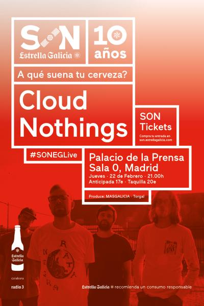 Cloud Nothings en Madrid | SON Estrella Galicia