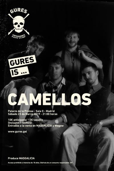 Camellos + El Pardo en Madrid | Gures is on tour
