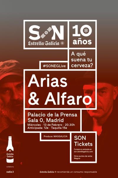 Arias & Alfaro en Madrid   SON Estrella Galicia