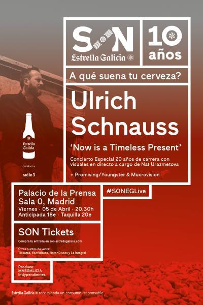 Ulrich Schnauss + Promising / Youngster & Mucrovision en Madrid | SON EG
