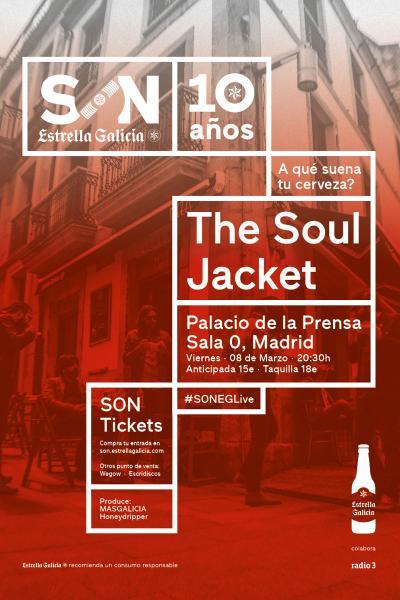 The Soul Jacket en Madrid   SON Estrella Galicia