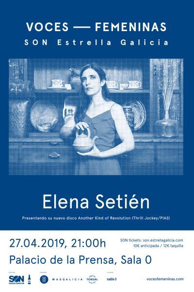 Elena Setién en Madrid | Voces Femeninas
