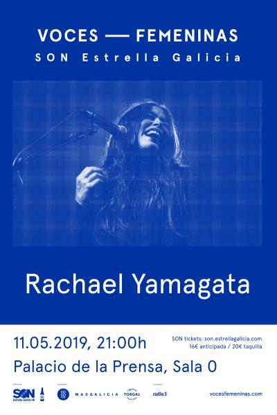 Rachael Yamagata en Madrid | Voces Femeninas