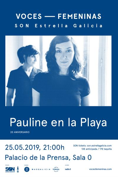 Pauline en la Playa en Madrid | Voces Femeninas