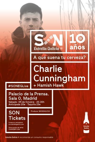 Charlie Cunningham + Hawish Hawk en Madrid | SON Estrella Galicia