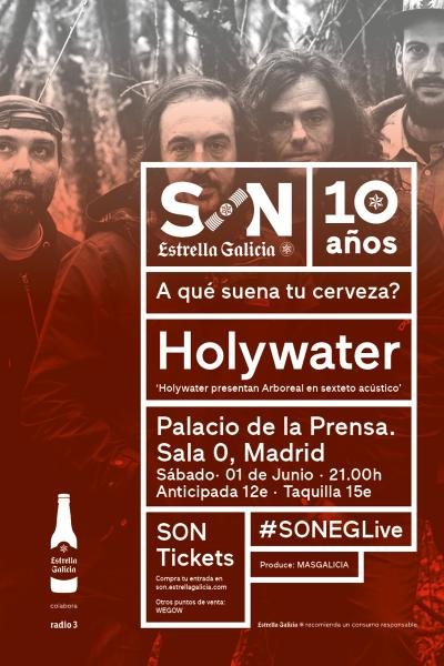 Holywater en Madrid | SON Estrella Galicia