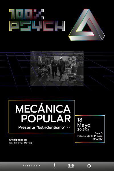 Mecánica Popular en Madrid   100% Psych