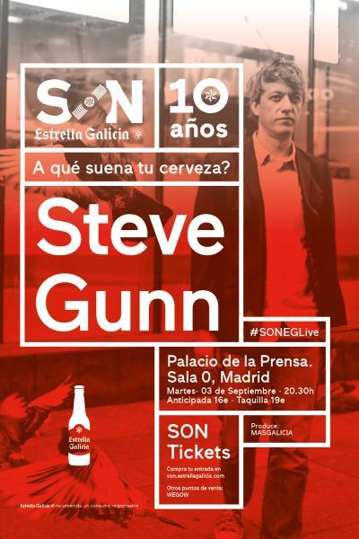 Steve Gunn + Valley Maker en Madrid | SON Estrella Galicia