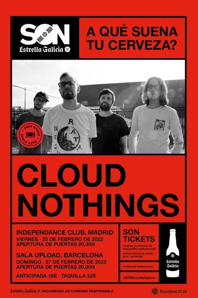 Cloud Nothings en Barcelona | SON Estrella Galicia