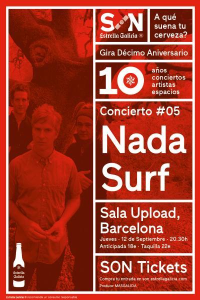 Nada Surf en Barcelona | SON Estrella Galicia