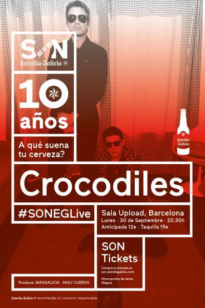 Crocodiles en Barcelona | SON Estrella Galicia