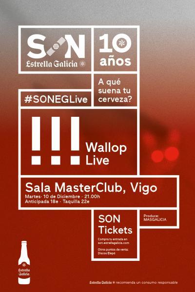 !!! (Chk Chk Chk) en Vigo | SON Estrella Galicia