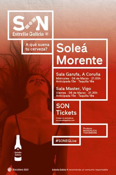 Soleá Morente en Vigo | SON Estrella Galicia