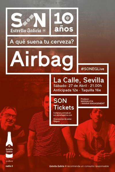 Airbag en Sevilla | SON Estrella Galicia