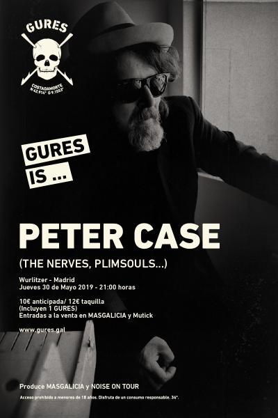 Peter Case en Madrid   Gures is on tour