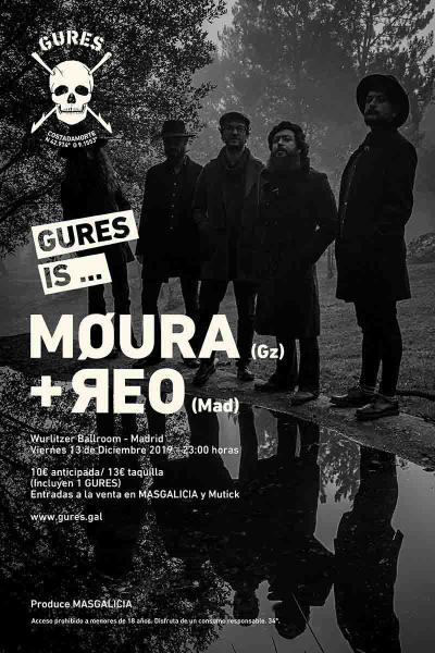 MØURA + ЯEO en Madrid | Gures is on tour