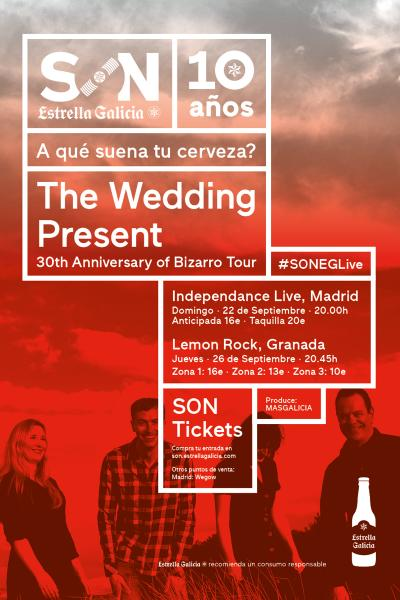 The Wedding Present en Madrid | SON Estrella Galicia