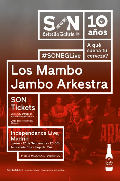 Los Mambo Jambo Arkestra en Madrid | SON Estrella Galicia