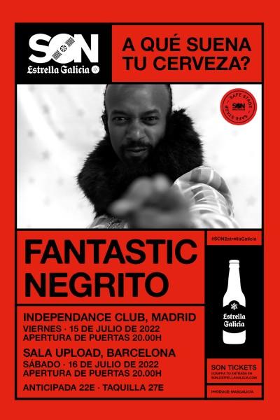 Fantastic Negrito en Madrid | SON Estrella Galicia