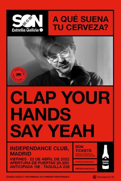 Clap Your Hands Say Yeah en Madrid   SON Estrella Galicia