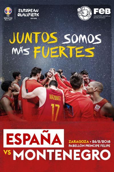 España vs Montenegro
