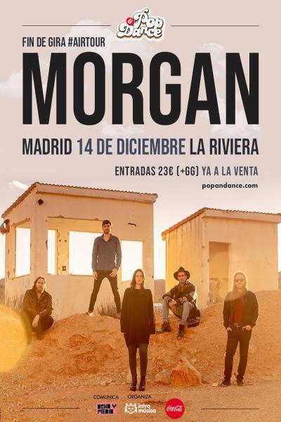 MORGAN: fin de gira en Madrid (La Riviera)