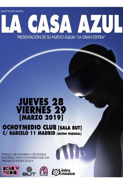 La Casa Azul en Madrid (Ochoymedio) - 28 marzo