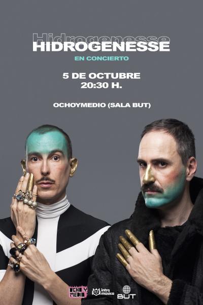 HIDROGENESSE en Madrid (Ochoymedio Club)