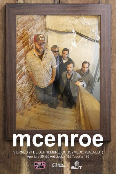 Mcenroe en Madrid, OchoymedioClub (Sala But)