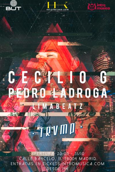 CECILIO G en TRVMP (Sala BUT)