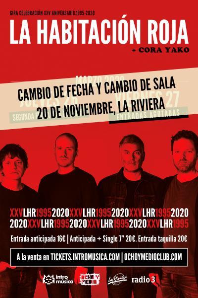 La Habitación Roja: concierto especial 25 aniversario (Madrid) [SEGUNDA FECHA]