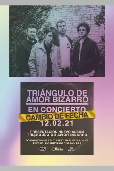 Triángulo de Amor Bizarro presenta nuevo álbum en Madrid (Ochoymedio / Sala BUT)
