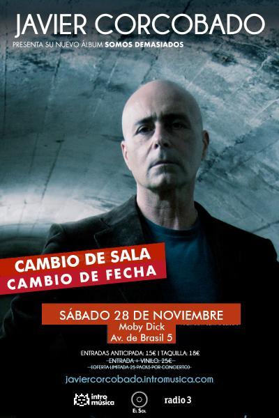 Javier Corcobado presenta 'Somos Demasiados' en Madrid (El Sol)
