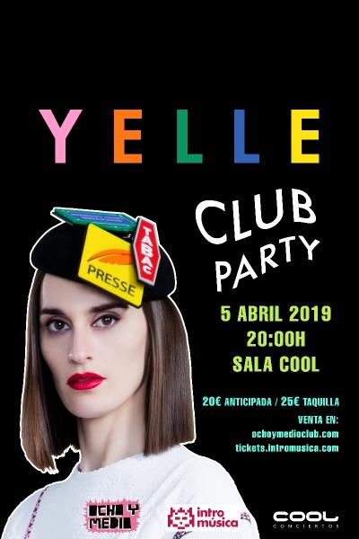 Yelle Club Party en Madrid (Cool Stage)