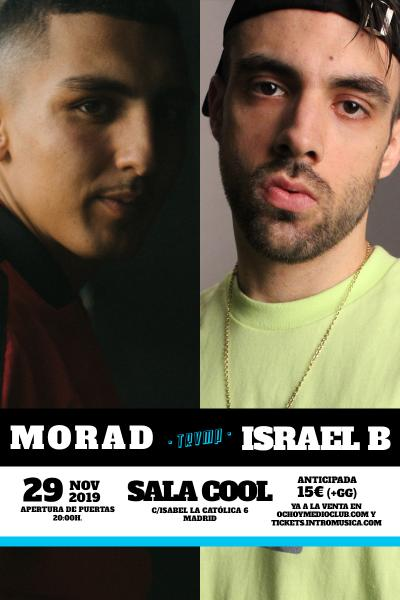 Morad + Israel B en TRVMP (Sala Cool)