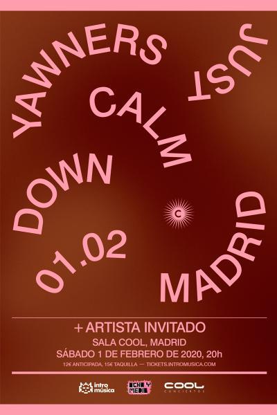 YAWNERS + artista invitado en Madrid (Sala Cool)